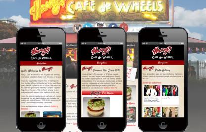 Harrys Cafe De Wheels Mobile Optimised Website