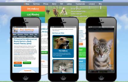 Petmates Mobile Website